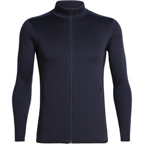 Icebreaker Elemental LS Zip Men Midnight Navy/Black
